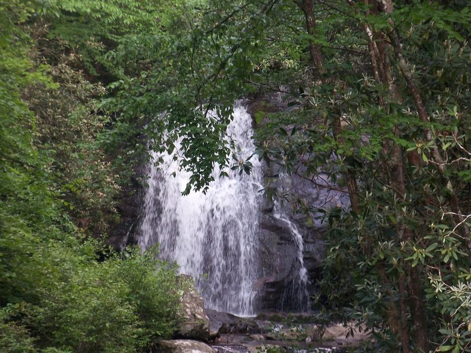 Smokies waterfall