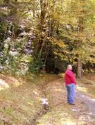 Husband on Roaring Fork Trail