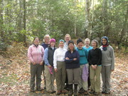 The women backpackers