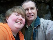 Me and my dad at Gregory's Cave