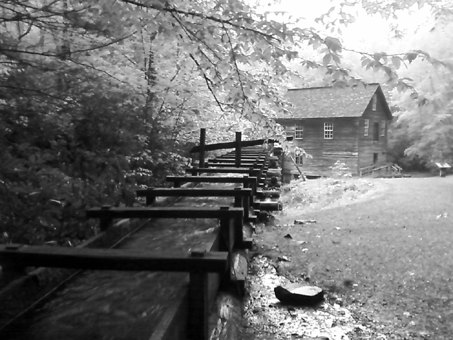 Mingus Mill on a rainy day.
