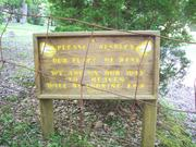 Levi Trentham Cemetery - April 30, 2012