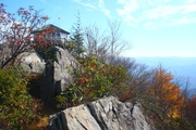 Mt. Cammerer Fire Tower - Hiked October 2011