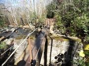 Bridge over Thunderhead Prong