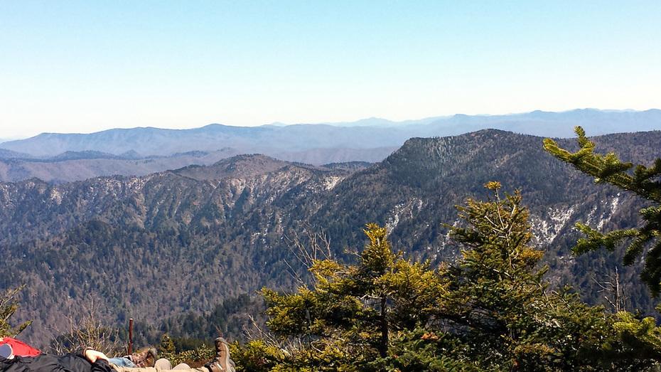 Up Trillium Gap to Mt.LeConte, down Bullhead.