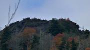 Zoom photo taken east of Chimney Tops.