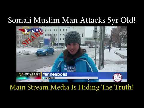 SOMALI MUSLIM MAN THROWS 5 YEAR OLD OFF THE THIRD FLOOR BALCONY AT MALL OF AMERICA IN MINNESOTA!