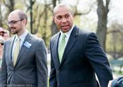 Ben Wright and Governor Deval Patrick