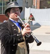 May Day 2010 Man W- Clarinet