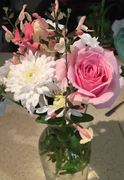 Today's bouquet from the garden
