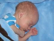 Baby brother Wynston