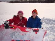 Snowfall &  Christmas 2009 025