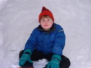 Snowfall &  Christmas 2009 036