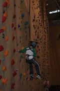 Ryan rock climbing