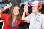 Jordan & I at Watkins Glen autograph session