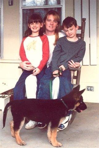 Brandon and his mom