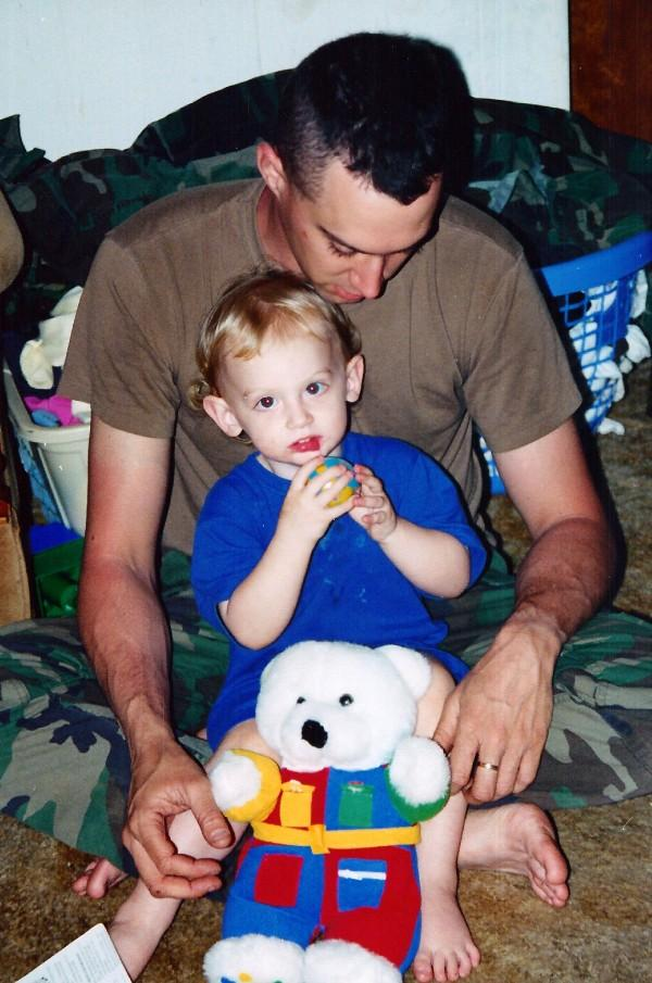 Brandon and dad