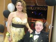 Luke n Mom at Prom