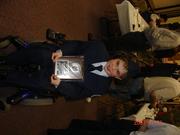 Anthony - JROTC Award