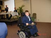 Anthony receives JROTC Award
