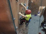 Climbing at the Missoula, Montana YMCA