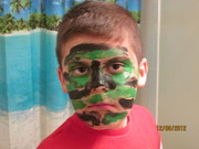 Painted camouflage