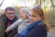 Me, Liam & Gina on a Hike