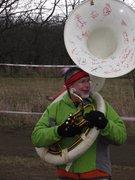 Mr. John Harter w/ sousaphone