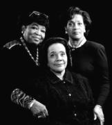 MRS. MALCOLM X (Dr. Betty Shabazz) MRS. MARTIN LUTHER KING JR. (Coretta Scott King) And MRS. MEDGAR EVERS (Myrlie Evers-Williams)