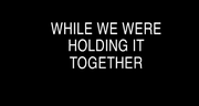 Video Still from While We are Holding it Together by Ivana Muller