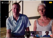 Screen Shots from meta-academy session with Peter Kyle and KJ Holmes
