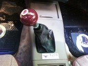 Redskins Cue Ball Shift Knob and HD Floor Mats