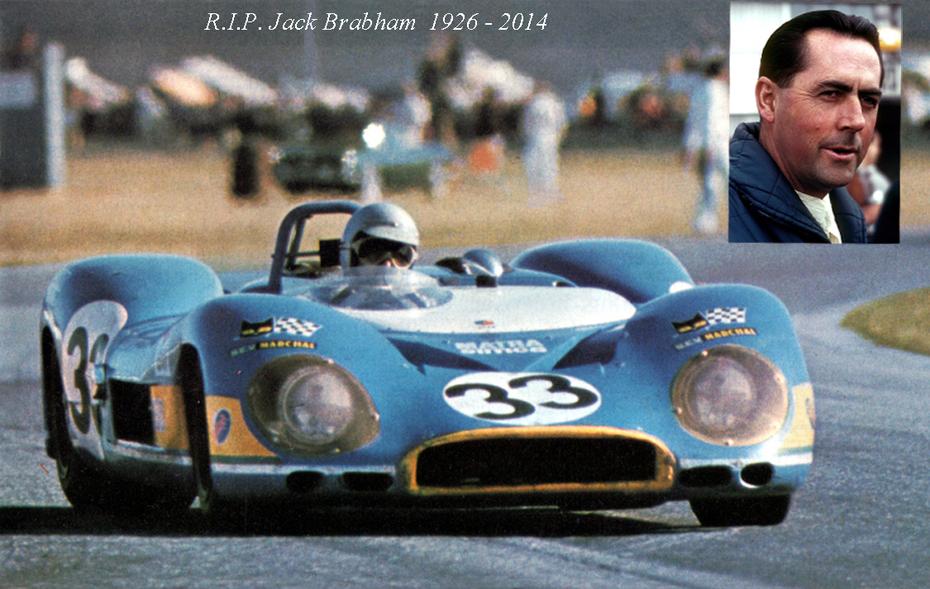 R.I.P. Sir Jack Brabham  1926 - 2014