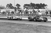 Brabham & Adamowicz at Daytona 1970