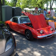 British Car Day - White Rock Lake Dallas, TX USA