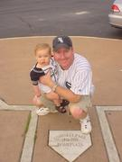 First White Sox game with son