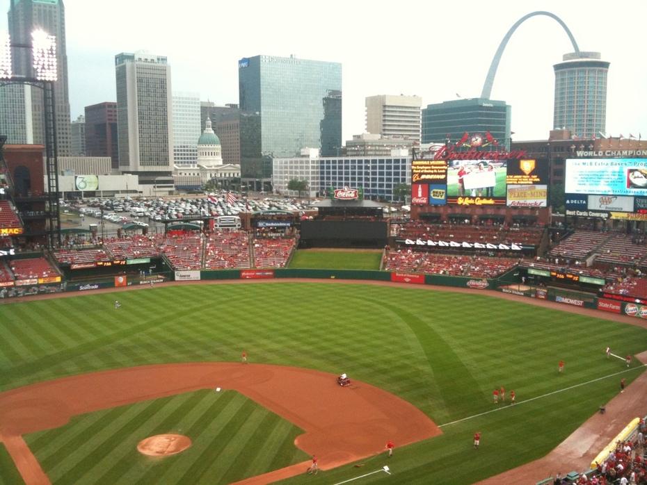 Busch Stadium II; St. Louis, MO