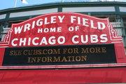 Iconic Wrigley Field Entrance