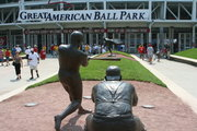 Entering Great American Ball Park