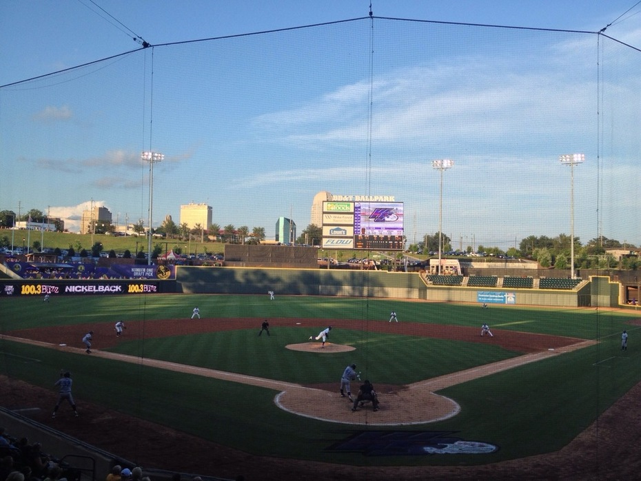 BB&T Ballpark- Winston Salem, NC