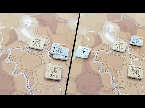 How to play [3]: 1914 Serbien Muss Sterbien - 3: Combat and Retreats