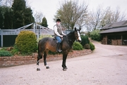 Me on Mona at Hargate Hill