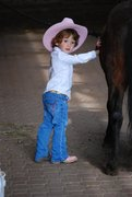 Emma the little cow girl Bucas contest