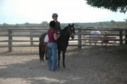 Ty and I at Boots&Saddle show when he was little