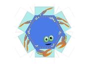 Crab Design for Treasure Box