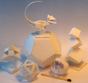 small paper objects