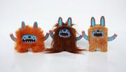 paper + plush monsters