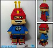 Super Paparu Papercraft Paradise Mascot