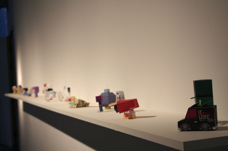 Paper Toys in OK, Linz