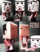 Paperdelic Suck Tracy w/ Tranny Trooper helmet